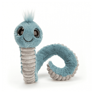Wiggly Worm Blue
