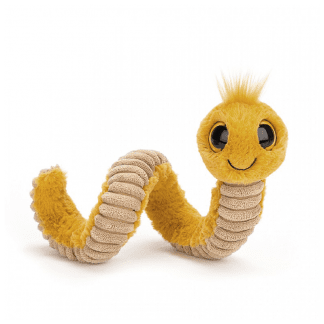 Wriggly worm yellow